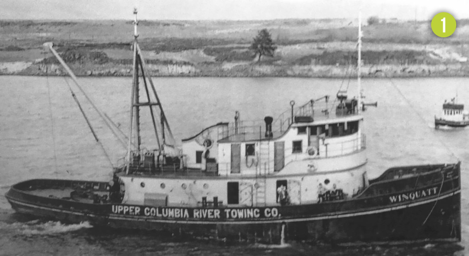 Winquat tugboat in the 1940s.