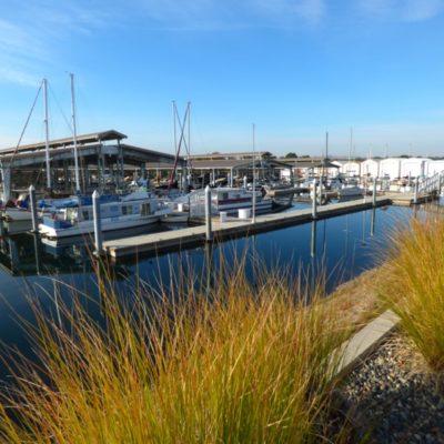 Clover Island Marina and moorage.