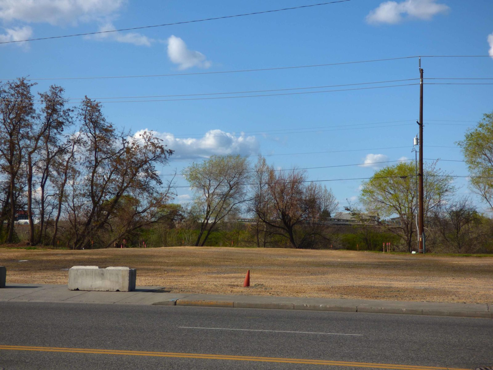 Site cleanup complete in preparation for construction of Columbia Gardens.