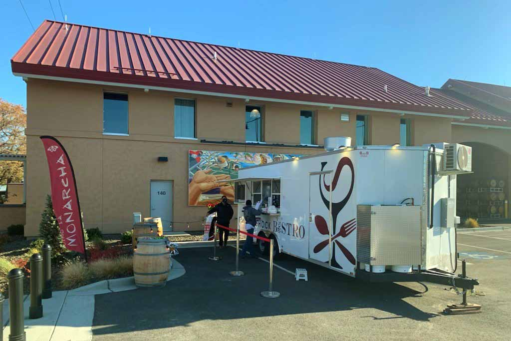 Culture Shock Bistro Food Truck at Columbia Gardens Wine & Artisan Village.