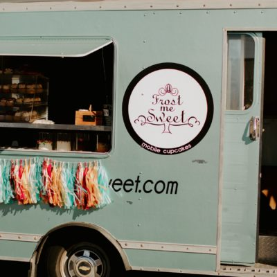 Frost Me Sweet Mobile Cupcakes food truck.