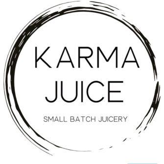 Karma Juice logo.