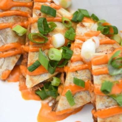 Ninja Bistro kimchi quesadilla.