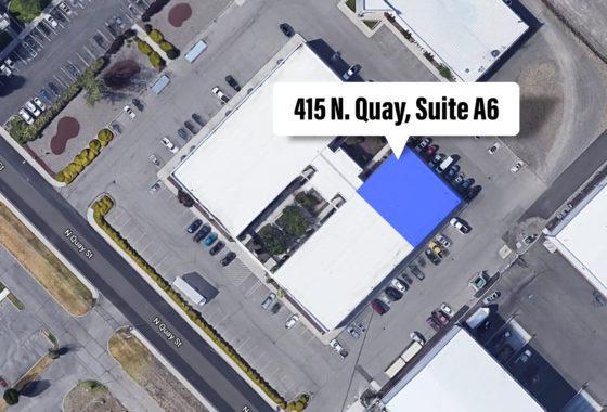Aerial of Vista Field Development Facility.