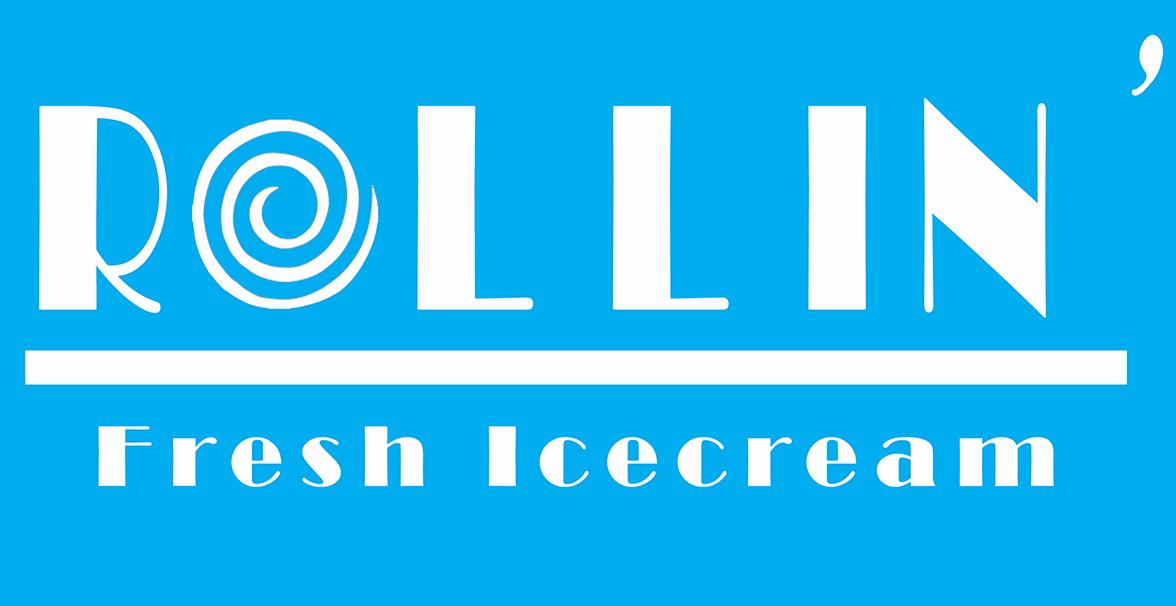 Rollin' Fresh Ice Cream logo.