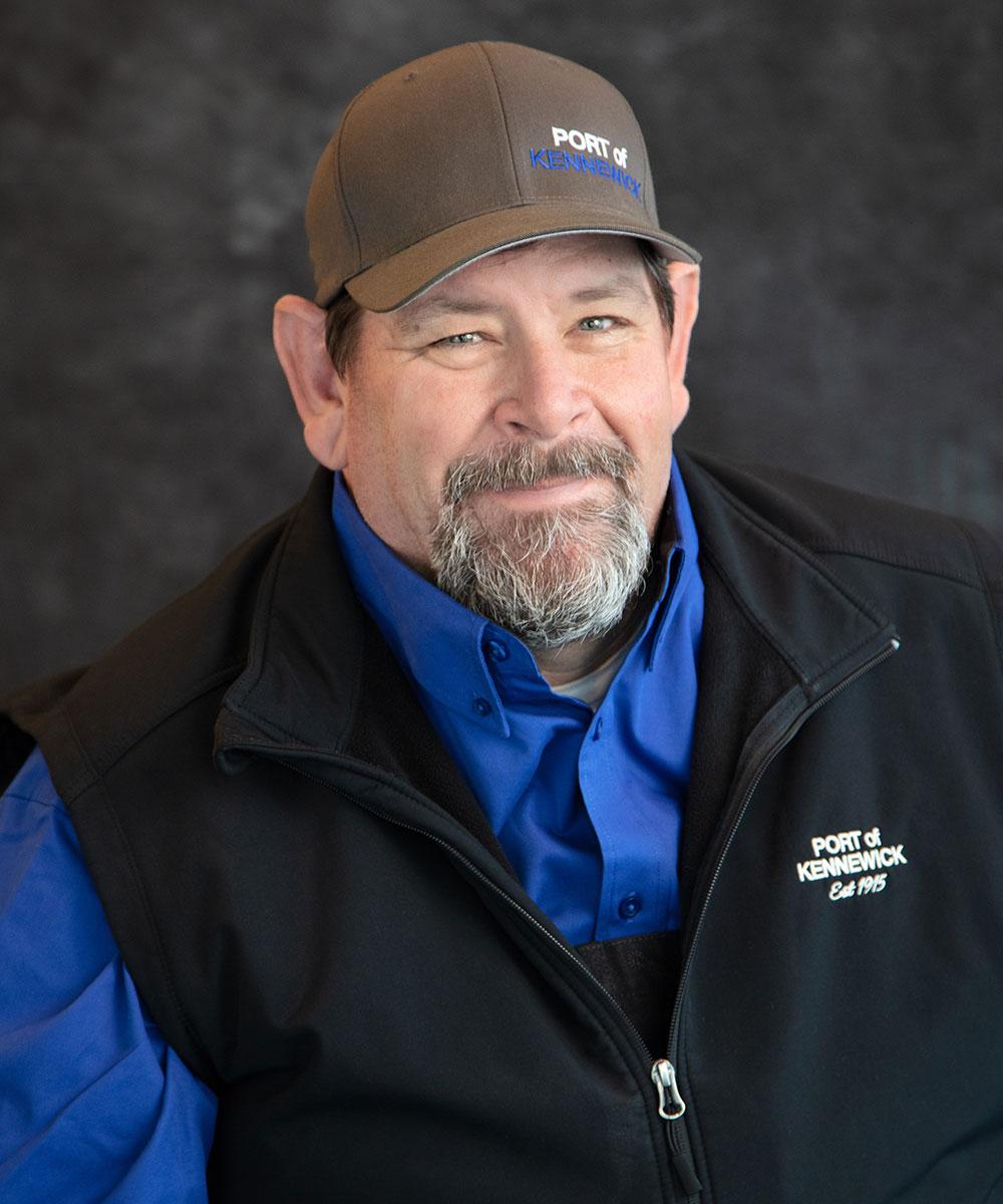 Portrait of Maintenance Technician Anthony Eleshio.
