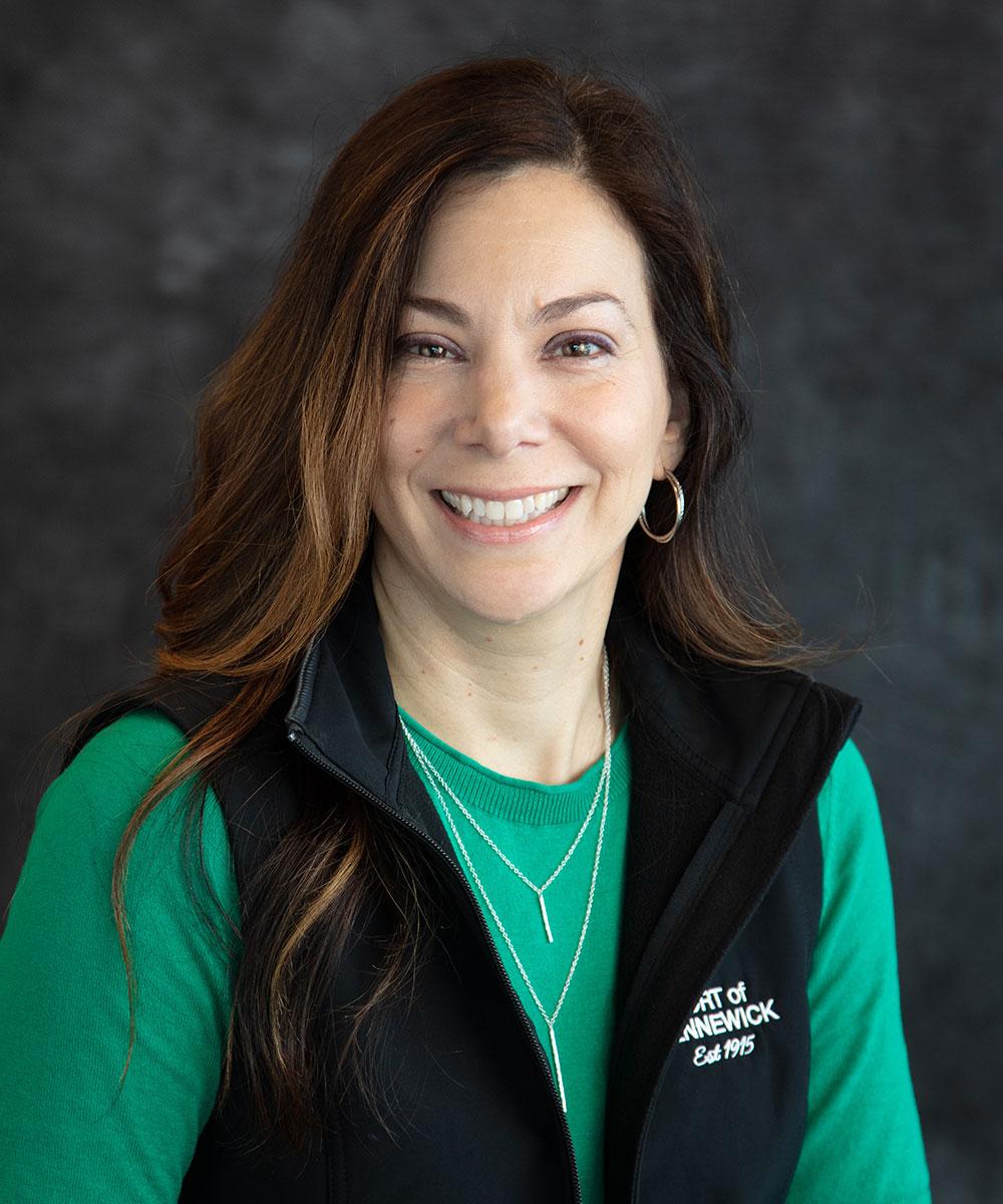 Portrait of Special Projects Coordinator Lisa Schumaker.
