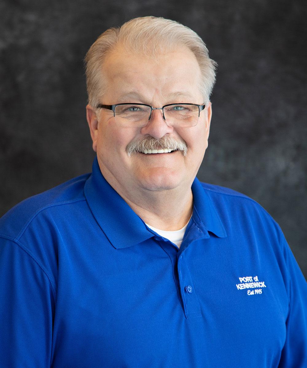 Portrait of Maintenance Technician Michael A. Melia.