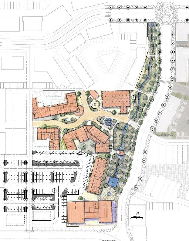 Plans for Vista Field phase one initial infrastructure.