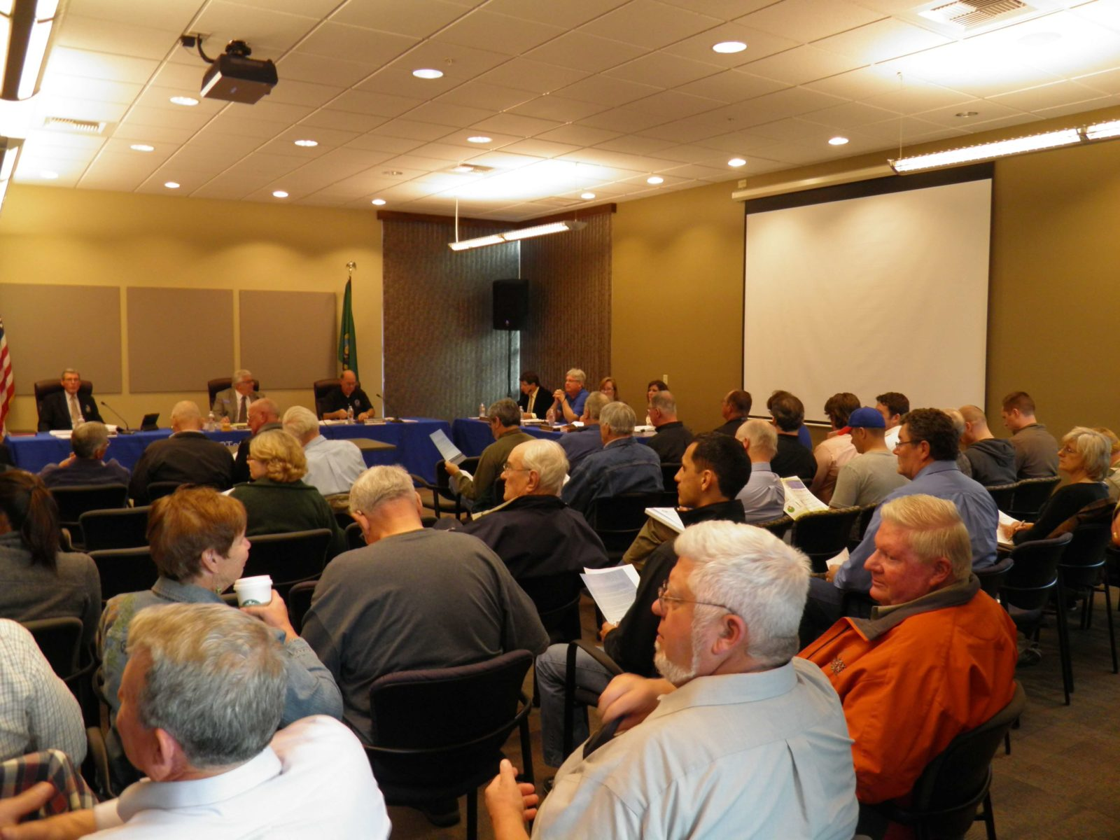 Port Commissioners hold public meeting about Vista Field's future.