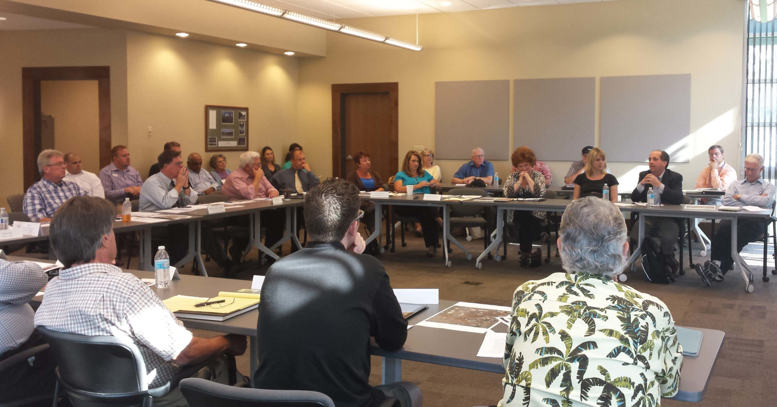 Vista Vision Task Force Committee members hold public meeting.
