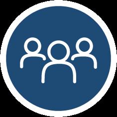Community impact homepage icon.