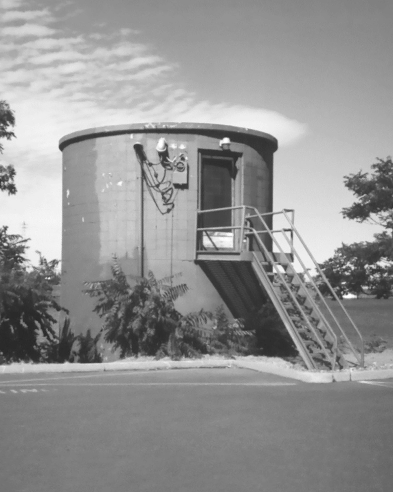 Ranney Well Collector on Clover Island, 1950s.
