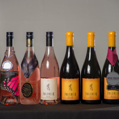 A collection of wines from Monarcha and Palencia.