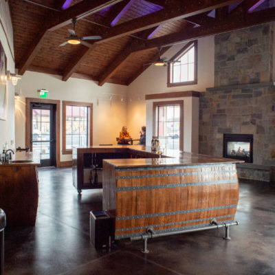 Gordon Estate Winery's tasting room at Columbia Gardens.