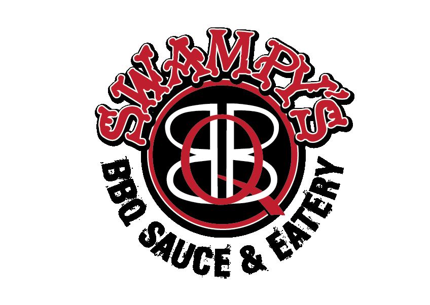 Swampy's BBQ logo.